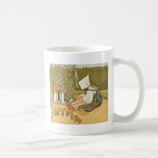 Swedish Child with Toys Coffee Mug
