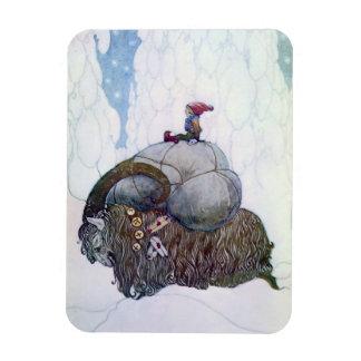 Swedish Christmas Goat: Julebukking by John Bauer Magnet