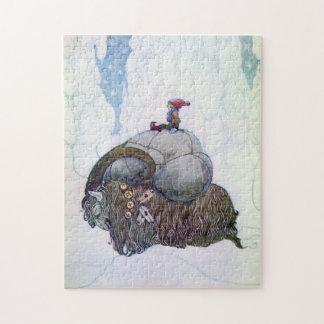 Swedish Christmas Goat: Julebukking - Puzzle