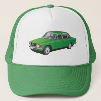 Swedish classic family car from 70's trucker hat