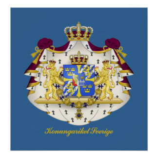 Swedish Coat of Arms Posters