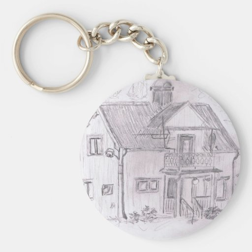 Swedish Cottage Keychains