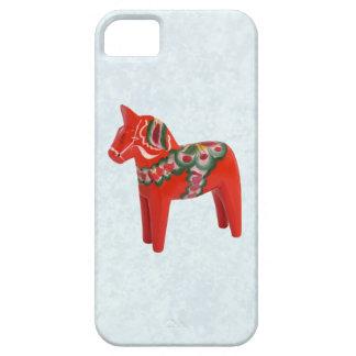 Swedish Dala Horse  Folk Art iPhone 5 Covers