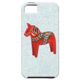 Swedish Dala Horse  Folk Art iPhone SE/5/5s Case