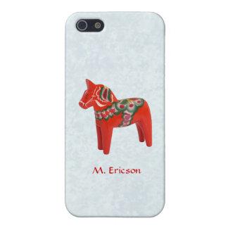 Swedish Dala Horse Folk Art Personalized Case For iPhone 5/5S
