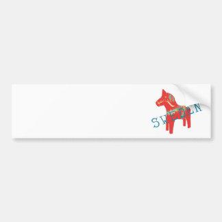 Swedish Dala Horse gifts & greetings Bumper Sticker