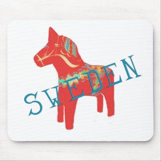 Swedish Dala Horse gifts & greetings Mousepads