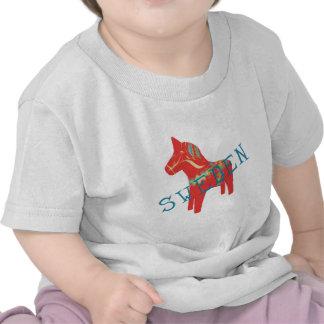 Swedish Dala Horse gifts & greetings T-shirt