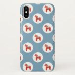 Swedish Dala Horse Scandinavian Design iPhone X Case