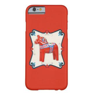 Swedish Dala Horse Scandinavian Folk Art Barely There iPhone 6 Case