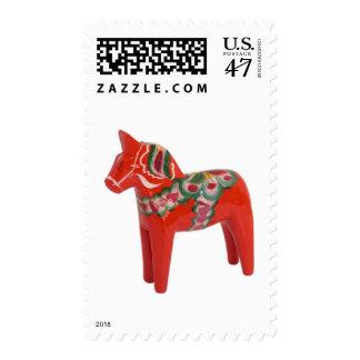 Swedish Dala Horse Scandinavian Folk Art Postage