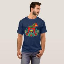 Swedish Dala Horse T-Shirt