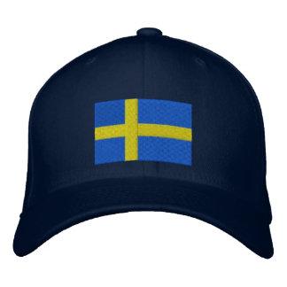 SWEDISH DRINKING TEAM EMBROIDERED BASEBALL HAT