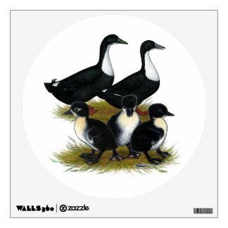 Swedish Duck Family Wall Sticker