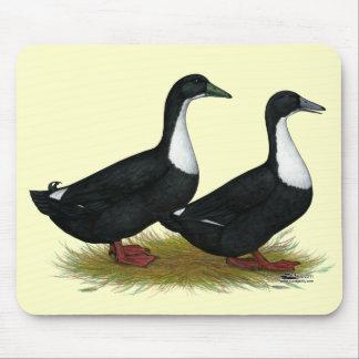 Swedish Ducks Black Mousepads