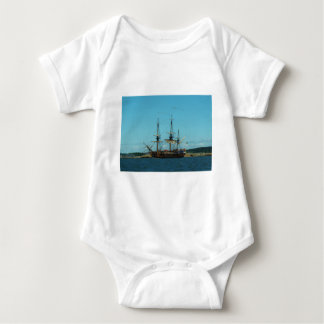 Swedish East Indiaman Baby Bodysuit