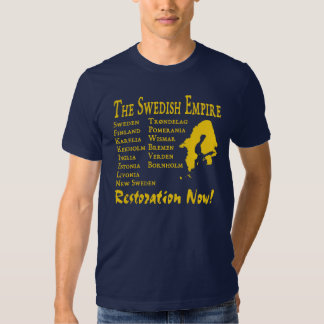 Swedish Empire (Svenska Imperium) Shirts