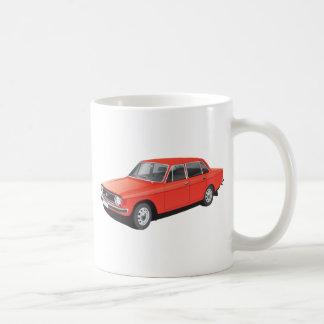 Swedish family car from early 70's (red) coffee mug
