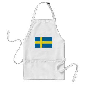 Swedish Flag Adult Apron