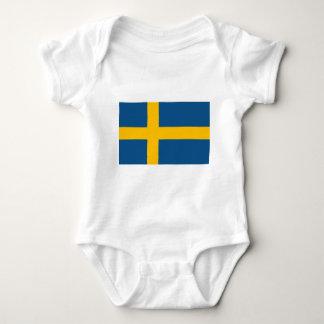 Swedish Flag Baby Bodysuit