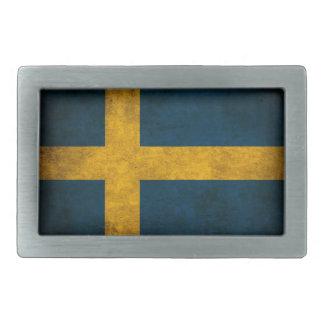 swedish flag belt buckles