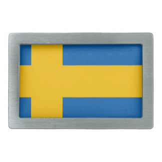 Swedish Flag Belt Buckle