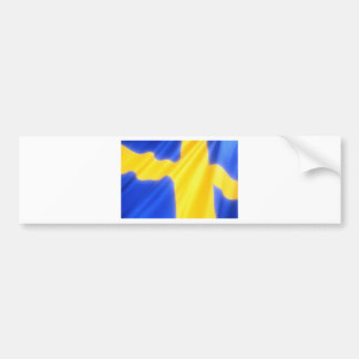 Swedish Flag Bumper Sticker