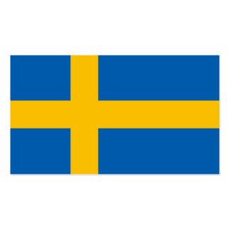 Swedish Flag Business Card
