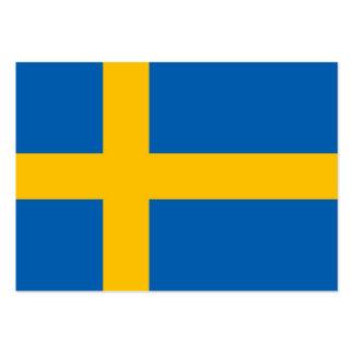 Swedish Flag Business Cards