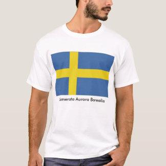 Swedish Flag, Camerata Aurora Borealis T-Shirt