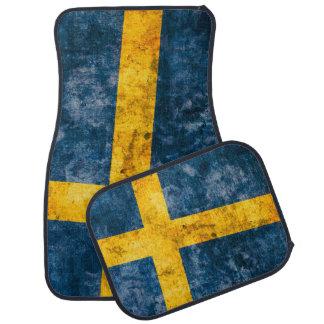 Swedish Flag Car Floor Mat