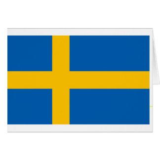 Swedish Flag Greeting Cards