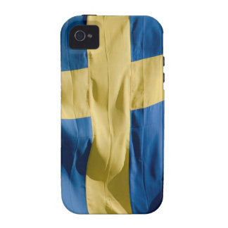 Swedish flag Case-Mate iPhone 4 cover