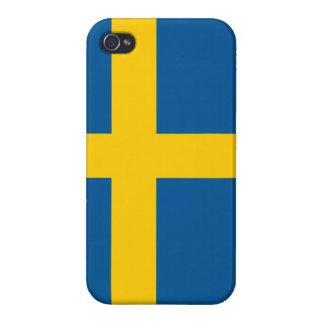 Swedish Flag - Flag of Sweden iPhone Case