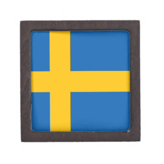 Swedish Flag Gift Box