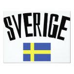 swedish flag icon card