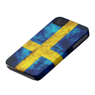 Swedish Flag iPhone 4 Case-Mate Case