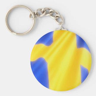 SWEDISH FLAG KEY CHAINS