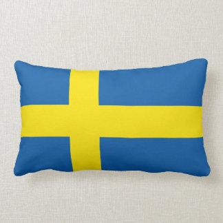 Swedish Flag Lumbar Pillow