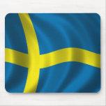 Swedish Flag Mouse Pad