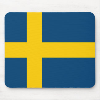 Swedish Flag Mouse Pad
