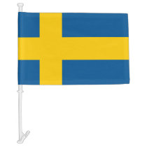 Swedish flag of Sweden car flags