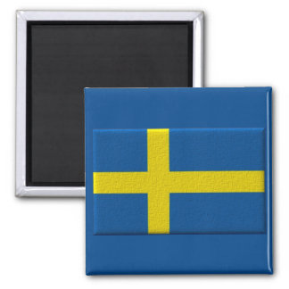 Swedish Flag of Sweden Scandinavian Magnet