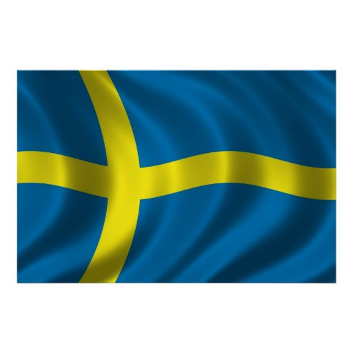 Swedish Flag Posters