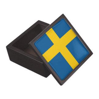 Swedish Flag Premium Gift Box