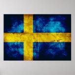 Swedish Flag Print