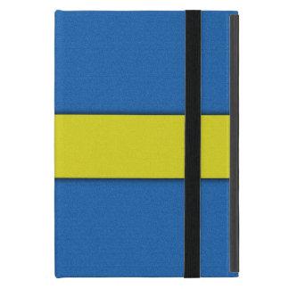 Swedish Flag Scandinavian National Emblem Case For iPad Mini