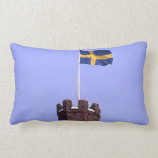 Swedish Flag Sweden's Colors Scandinavian Decor Throw Pillow
