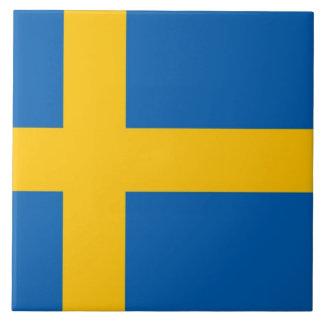 Swedish Flag Tile