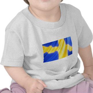 SWEDISH FLAG TSHIRT